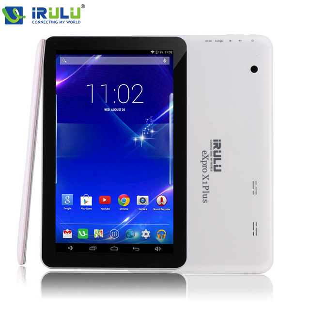 "iRULU X1Plus 10.1"" Tablet PC Android 5.1 Quad Core 1GB/8GB Dual Cam 2.0MP Bluetooth Wifi Tablet Support Google GMS tested"