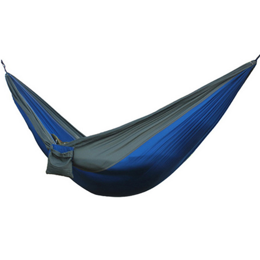 Camping Hiking Travel Kits Garden Leisure Travel Hammock Portable Parachute Hammocks Outdoor Camping Using Reading / sleeping thicken canvas single camping hammock outdoors durable breathable 280x80cm hammocks like parachute for traveling bushwalking