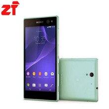 Sony Xperia C3 оригинальный разблокирована Quad-core Android мобильного телефона Sony d2533 3 Г GSM, WIFI, GPS 5.5 «8MP 8 ГБ dropshipping