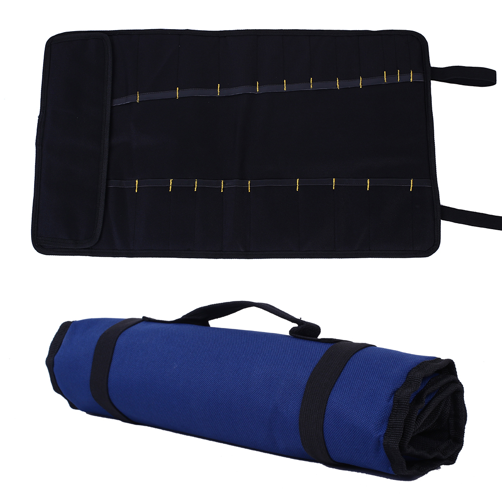 New Brand Tools Set Storage Bag Oxford Canvas Rolling Tool Bag With Carrying Handles ballistic nylon tools bag for tools storage 280x245x180mm