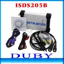 ISDS205B osciloscopio Digital 5 en 1 con USB y base multifuncional, analizador de espectro, DDS, barrido, grabador de datos, 20M, 48 MS/s