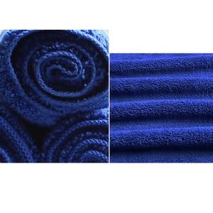 Image 2 - VOLTOP 40X60cm Reinigung Werkzeug Waschen Tücher Auto Zubehör Super Absorp Dicker Mikrofaser Handtuch Hause Büro Pflege Detaillierung