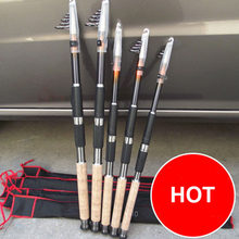 2.1M 2.4M 2.7M 3.0M 3.6M Portable Telescopic Fishing Rod Spinning Fish Hand Fishing Tackle Sea Rod Ocean Rod(China)