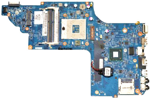 682176-001 For HP DV6 DV6-7000 laptop motherboard DDR3 Free Shipping 100% test ok new cpu cooling fan for hp pavilion dv6 dv6 7000 dv6t 7000 dv7 dv7 7000 fan p n dfs481305mc0t mf75090v1 c100 s9a 682061 001
