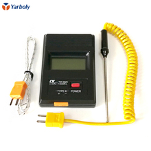 TM-902c temperature meter tm902c digital Thermometer + K type thermocouple + Insertion probe free shipping