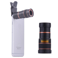 Universal 8x Zoom Optical Camera Lens Telescope Telephoto For Phone iPhone 6S Plus S7Edge telescope lentes for most mobile phone