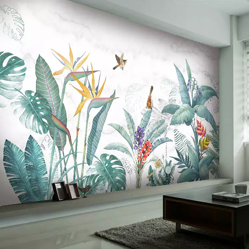Aliexpress Buy Modern Nordic Hand Painted Tropical
