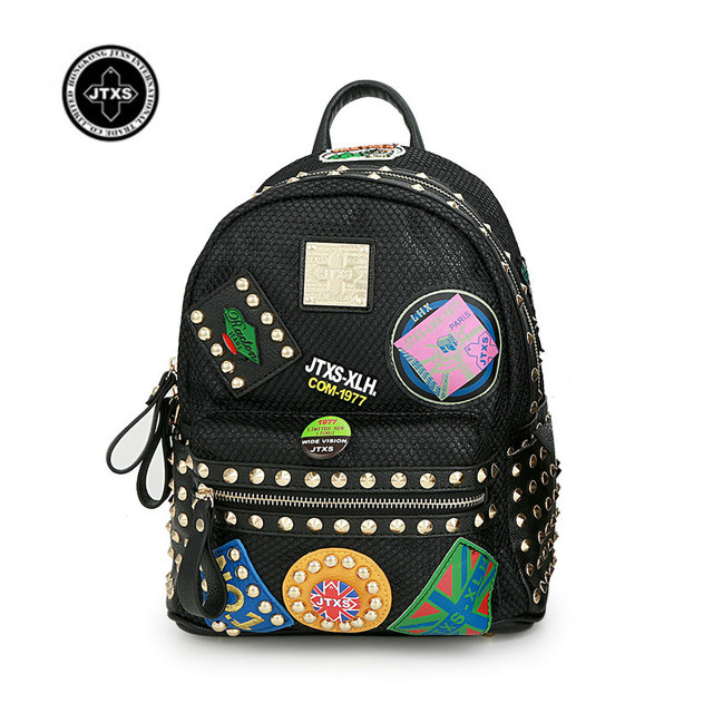 0abc8a4420d JTXS New Backpack Women Children Schoolbag Back Pack Leisure Korean Ladies  Knapsack Laptop Travel Bags for School Teenage Girls