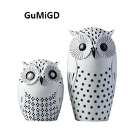 Nordic modern minimalist decor decoration living room office equipment of creative table soft resin Owl