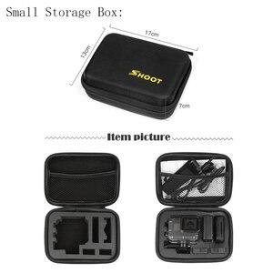Image 4 - SHOOT duży/średni/mały rozmiar kolekcja Case dla GoPro Hero 9 8 7 czarny Xiaomi Yi 4K Sjcam Sj4000 Eken Box dla Go Pro akcesoria