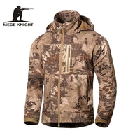 MEGE Brand Clothing Men Military Jacket Windbreaker Tactical Camouflage Army Autumn Jackets And Coats Men Hoody