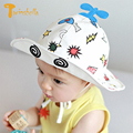 TWINSBELLA 2017 New Fashion Hot Toddler Infant Hats Sun Cap Polka Summer Outdoor Little Plane Baby Boy Hats Beach Bucket Hat