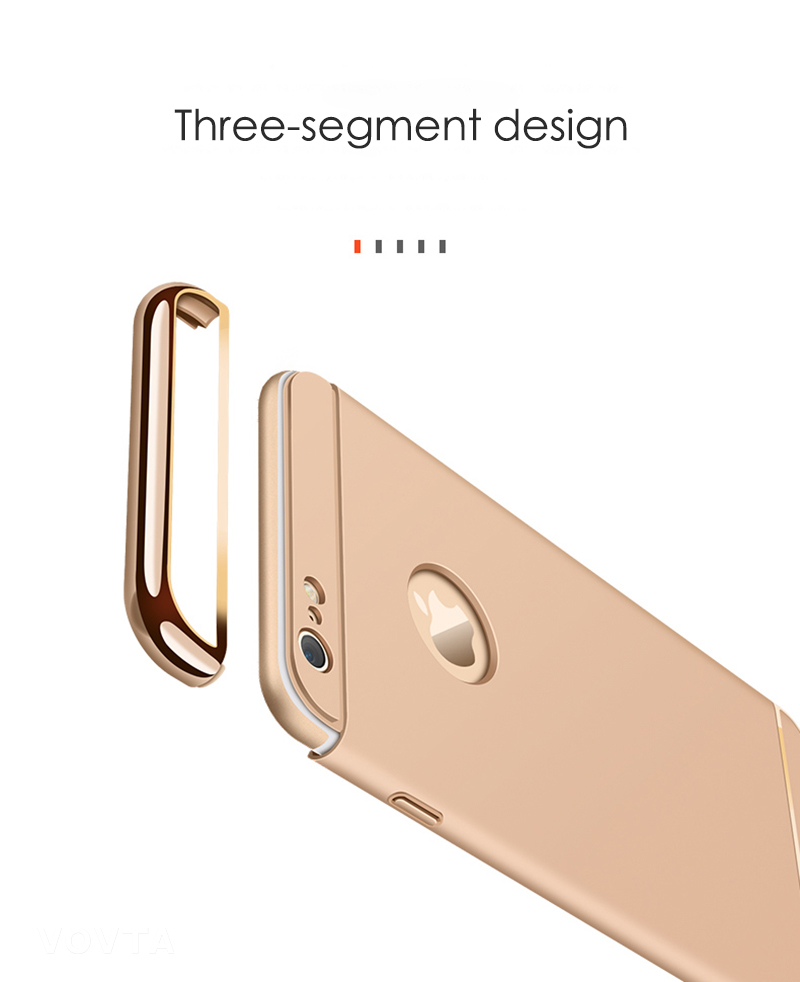VOVTA Luxury Anti-Knock Cases For iPhone 6 8 7 Plus Case Plating Shockproof Full Cover For iphone 7 6s 8 Plus Phone Case8