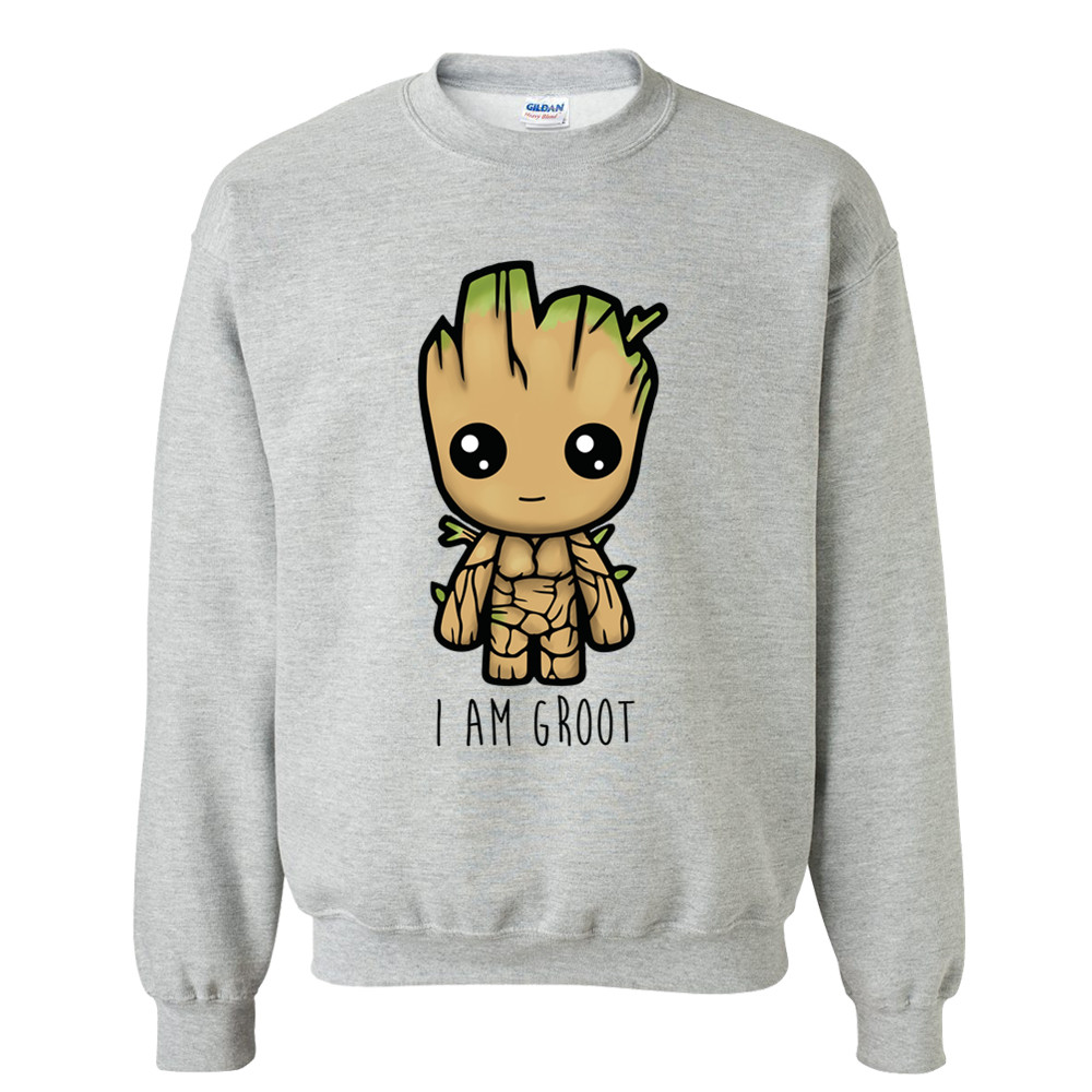 I am hoodie Sweatshirt Mens hoodies tracksuit clothes men clothing Guardians of the Galaxy men Anime baby