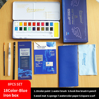 18color blue box