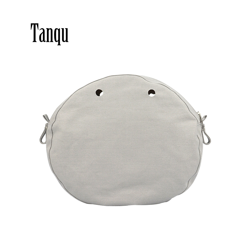 2019 Tanqu New Waterproof Inner Lining Insert Zipper Pocket For Obag Twist Mini For O Bag Women Bag Shoulderbag