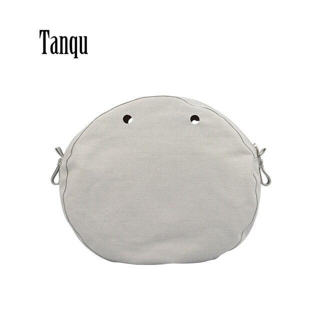 Tanqu New Waterproof Inner Lining Insert Zipper Pocket for Obag twist mini for O bag Women bag Shoulderbag