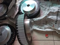 Factory directly price customized produce 112Z (teeth) HTD8M pulley/ gear/wheel cheap price
