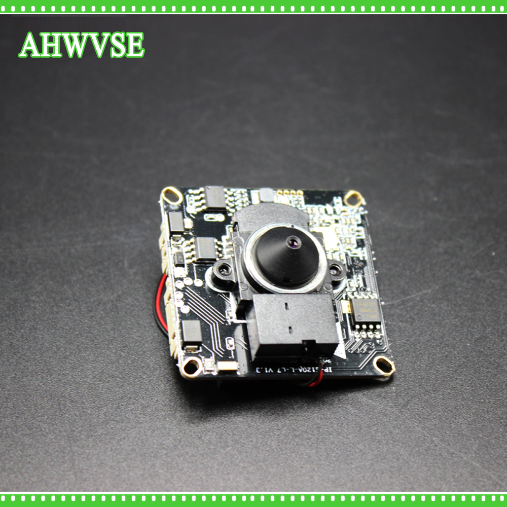 AHWVSE Mini H.264 IP Camera Module Board DIY Camera Indoor 2MP Mini IP Camera Module with wide angle 3.7mm lens