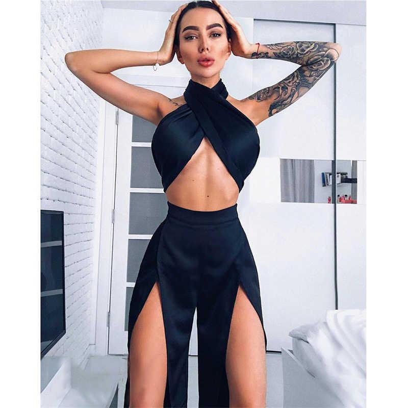 Muximux Лето 2018 г. для женщин пикантные Платья для вечеринок серии без бретелек Твердые Макси платье с открытой спиной
