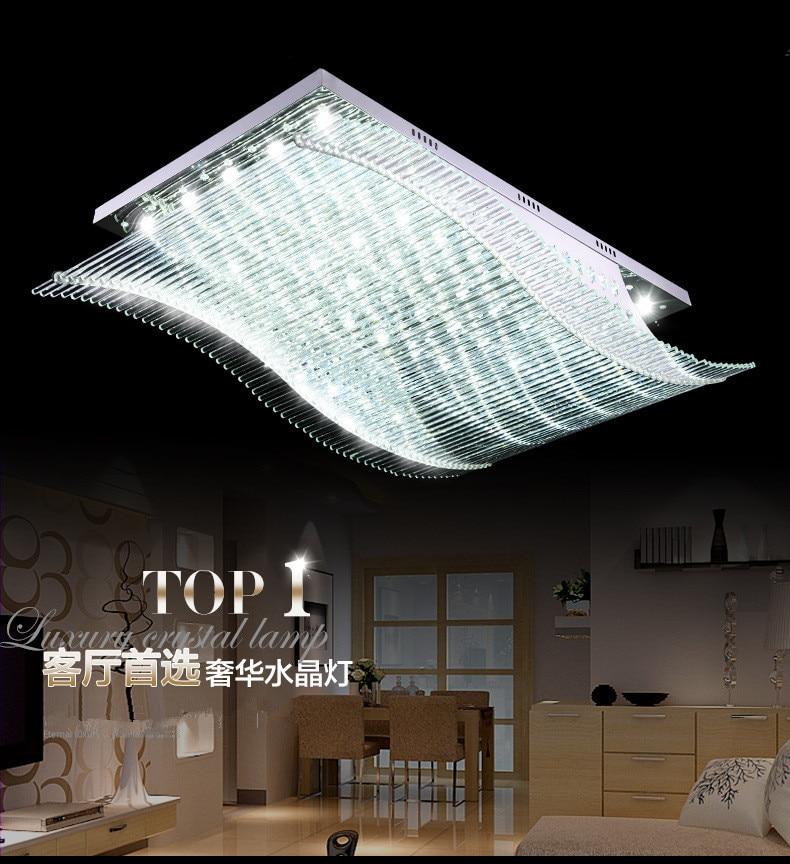 online kaufen großhandel fernbedienung kronleuchter aus china ... - Moderne Wohnzimmerlampe
