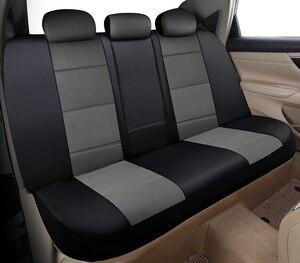 Image 4 - Yuzhe ユニバーサル自動革カーシートカバー現代 IX35 IX25 ソナタサンタフェツーソンエラントラアクセント自動車アクセサリー