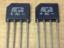 Kbl406 мостовой выпрямитель 4a 600 В электронных компонентов жк-аксессуары