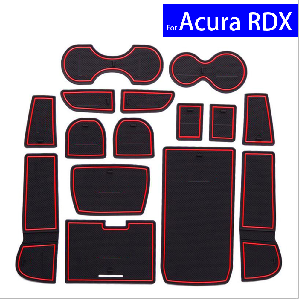 15 Pcs Non Slip Car Door Gate Slot Mats Carpets Position