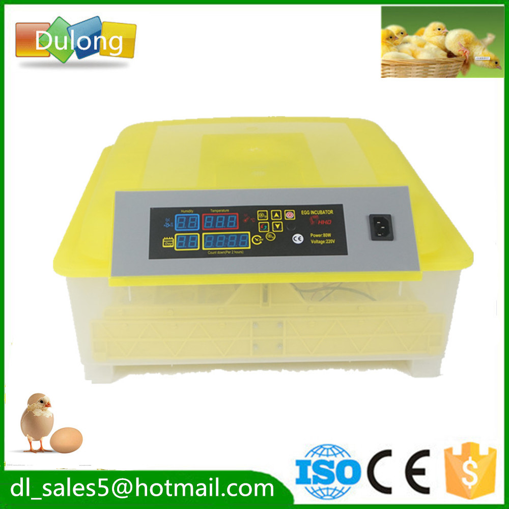 Hot sale 48 Egg Digital Automatic Egg Turning Incubators Hatcher brooder poultry Chicken Egg Incubator ce certificate poultry hatchery machines automatic egg turning 220v hatching incubators for sale