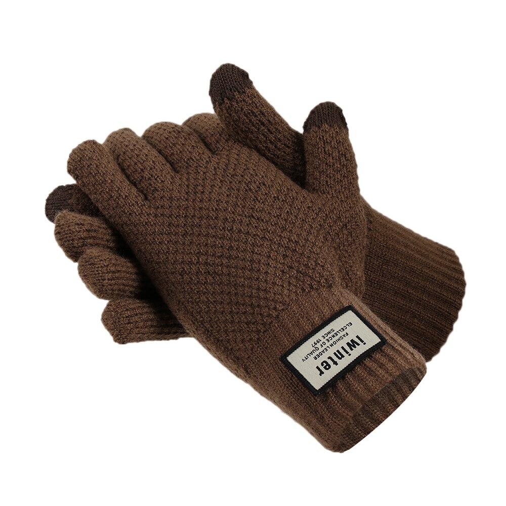 15961b85c Women's Accessories Gloves & Mittens Women Girls Wool Half-finger Mittens  Gloves with Flip Cover Knit Convertible 6L