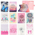 Fashion style PU Leather Stand Case Cover For Samsung Galaxy Tab E 8.0 T377 T377V SM-T377 T375 tablet cases with card slot