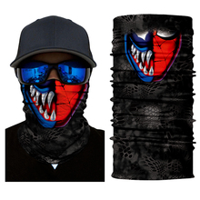 Motorcycle Balaclava Cycling Ghost Mask Skull Face Durag Shield Biker Scarf Neck Cover