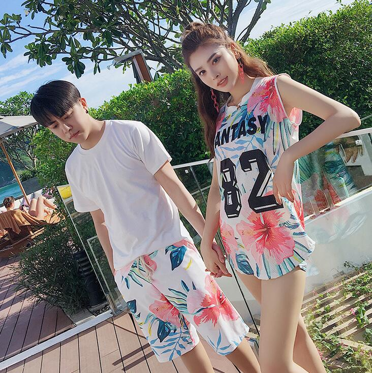 Swimming Suit For Women Swimwear 3pcs Swimsuit Blue Striped Couple Family Matching Swimsuit Brother Sister Matching Clothes