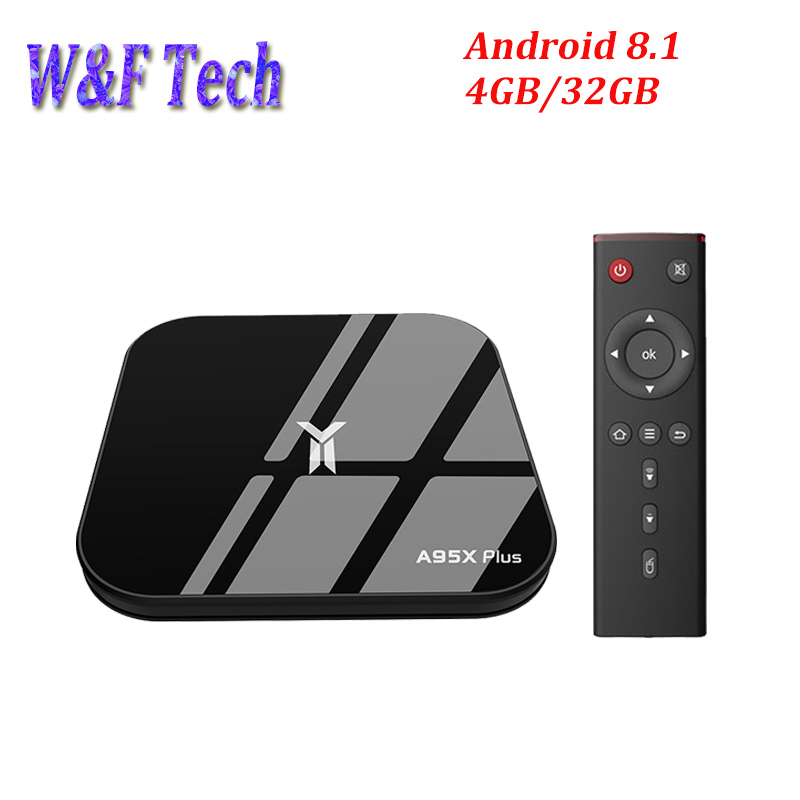 A95X PLUS Smart TV BOX Android 8.1 Amlogic S905Y2 LPDDR4 Quad Core 4GB 32GB 2.4G&5GHz Wifi BT 4K Set top box PK X96 Max prefix-in Set-top Boxes from Consumer Electronics    1