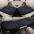 Nuevo Terciopelo Cojín Del Asiento de Coche Para Ford Edge Escapar Kuga Fusión Mondeo Focus Fiesta Ecosport Explorer, Alto contenido de fibra cuero, Coche Cubre