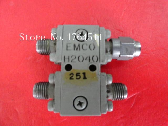 [BELLA] EMCO H2040 2-4GHz Coup:3dB SMA Supply Bridge