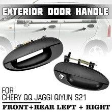 4 adet Ön Arka Sol Sağ Araba Dış Dış Kapı Kolu Kolları Chery QQ için JAGGI Qiyun S21