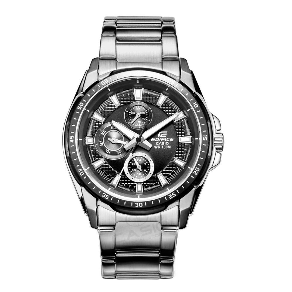 Casio Edifice Watches Men Sport Waterproof Quartz Watches Steel Watches Relogio Masculino Table Steel Wristwatch for Men EF-336 casio edifice ef 503sg 7a
