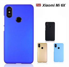6x Phone Cases Ultra Slim Hard Rubberized Matte Cover Case For Xiaomi Mi 6X Cellphone new in stock