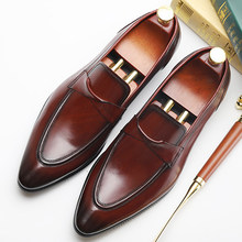 9260fd619a Popular Black and Burgundy Dress Shoes-Buy Cheap Black and Burgundy ...