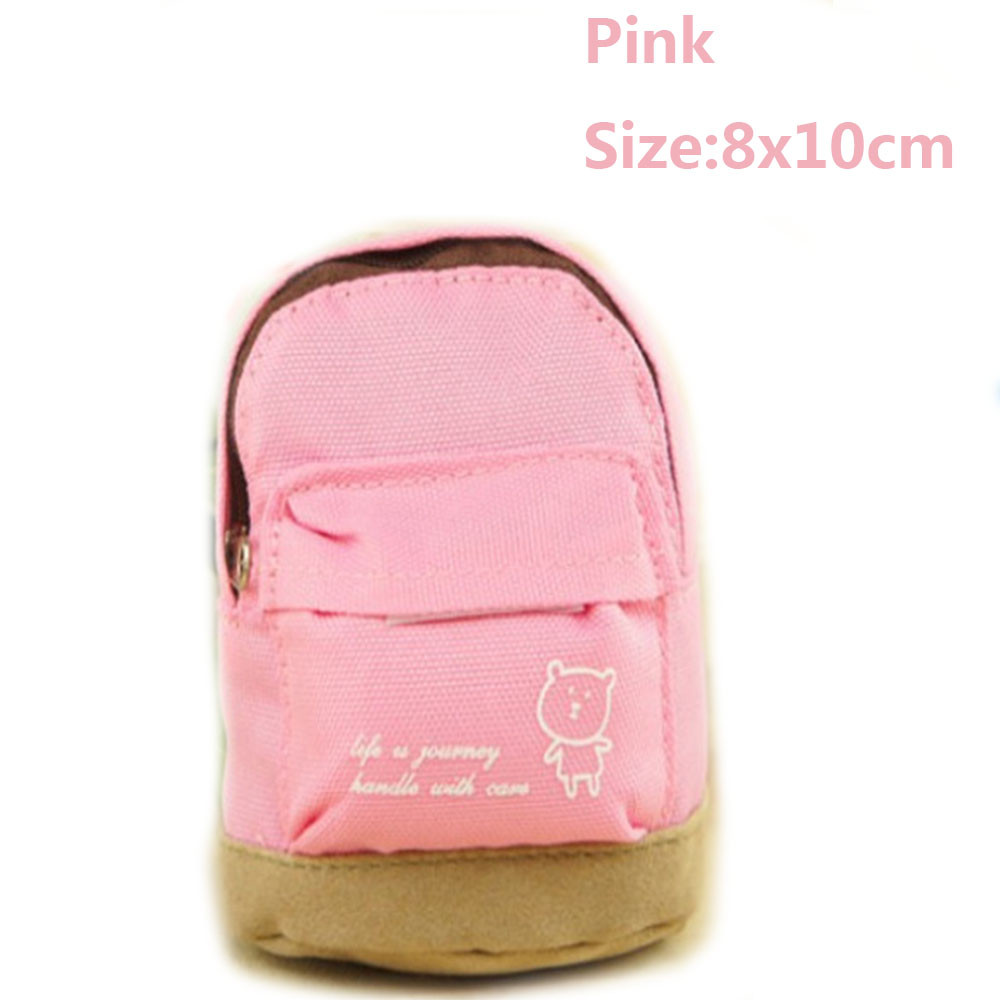 2017 New Women Canvas Mini Floral Backpack Coin Pouch Girls Kids Cheap Purse For Keys mini monedero