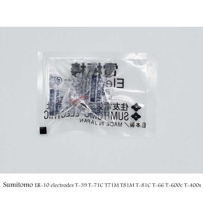 1 par para Sumitomo T39 electrodos T81C T-71C T-71M T-600c Q101 ER-10 T71c Z1C type-81C de fibra óptica empalmador de fusión electrodo