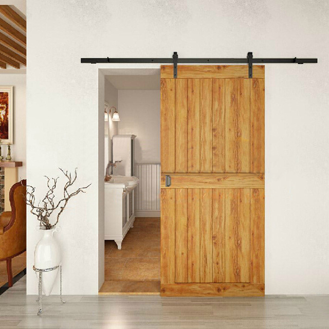 Doors Of Wood Sliding Door Hardware Accessories, American Barn Doors Pulley  Sliding Door Rail And
