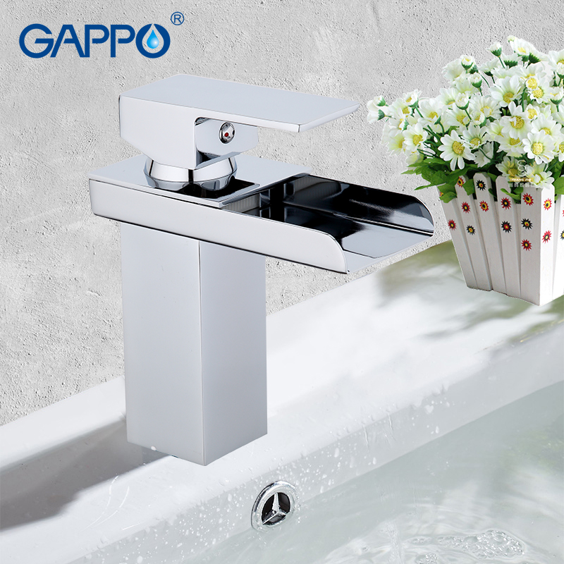 GAPPO Basin Faucet mixer tap waterfall bathroom shower faucets bath water mixer Deck Mounted Faucets taps bathroom faucets leaf style magnetic leather case for xiaomi redmi 5 plus with holder