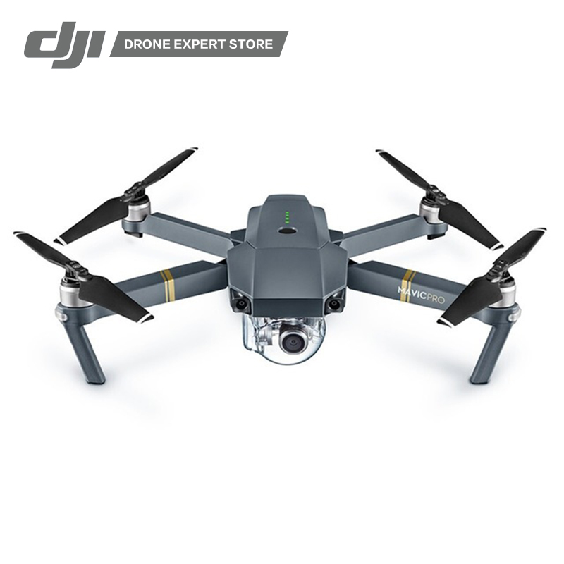 DJI Mavic Pro Drone Portable Quadcopter 4K Video Camera 30 min Flight Time WiFi FPV 7 km Remote Controller UAV квадрокоптер набор dji mavic pro 4k quadcopter бпла чёрный