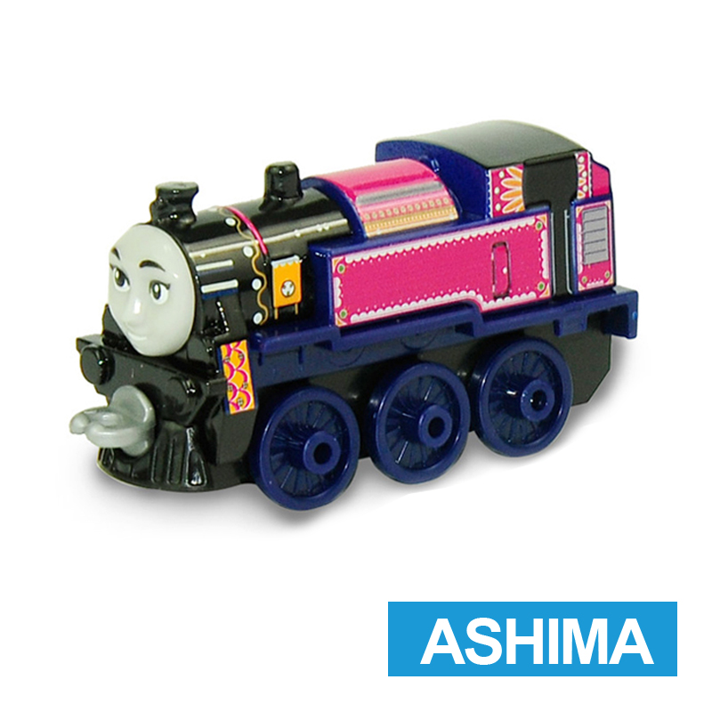 x3 Gift 1: 64 Vehicles Diecasts Thomas with hook Ashima Thomas And Friends Magnetic Thomas Truck Engine Train Toys For Boys