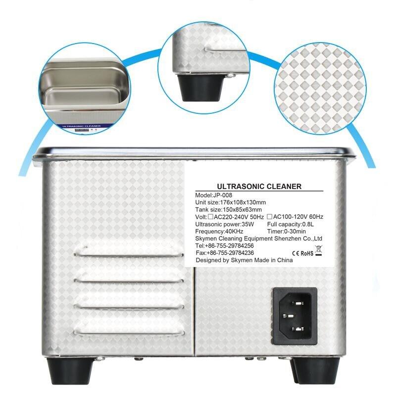 JP 300ST однослотовый Ультразвуковой очиститель алюминиевых деталей для штамповки, оборудование для очистки, автоматическая машина для чистк... - 4