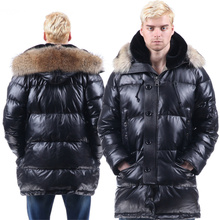 N3B USARMY MILITARY SHEEP LEATHER JACKET POLAR FUR DUCK DOWN90%COAT SNORKEL PARKA HOOD COLD WEATHER Wusuli raccoon WOLF ManWoman