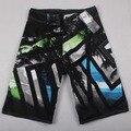 Pantalones Cortos de playa para hombre ropa de la Marca Caliente 2016 nuevo estilo de Tabla Corta de alta calidad Boardshorts Hombres praia Bermudas badeshorts homme