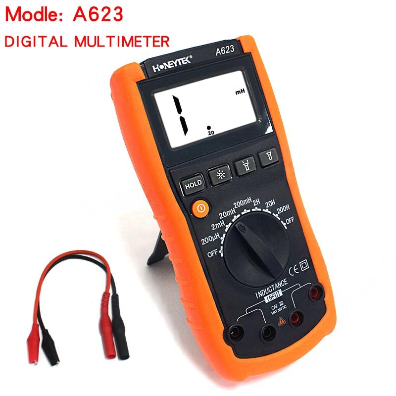 Digital Capacitance Meter Inductance LCR Meter uyigao ua78d digital multimeter resistance capacitance inductance lcr multi meter tester with backlight
